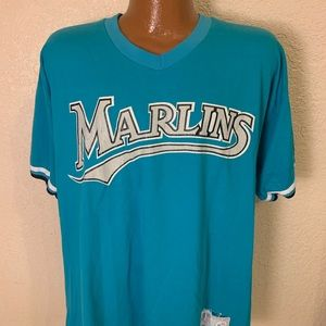 90s Florida Marlins Russell Athletic Jersey Shirt
